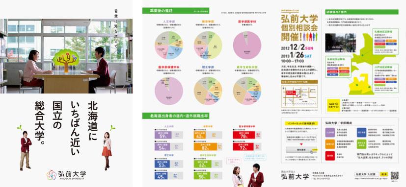 弘前大学: Leaflet