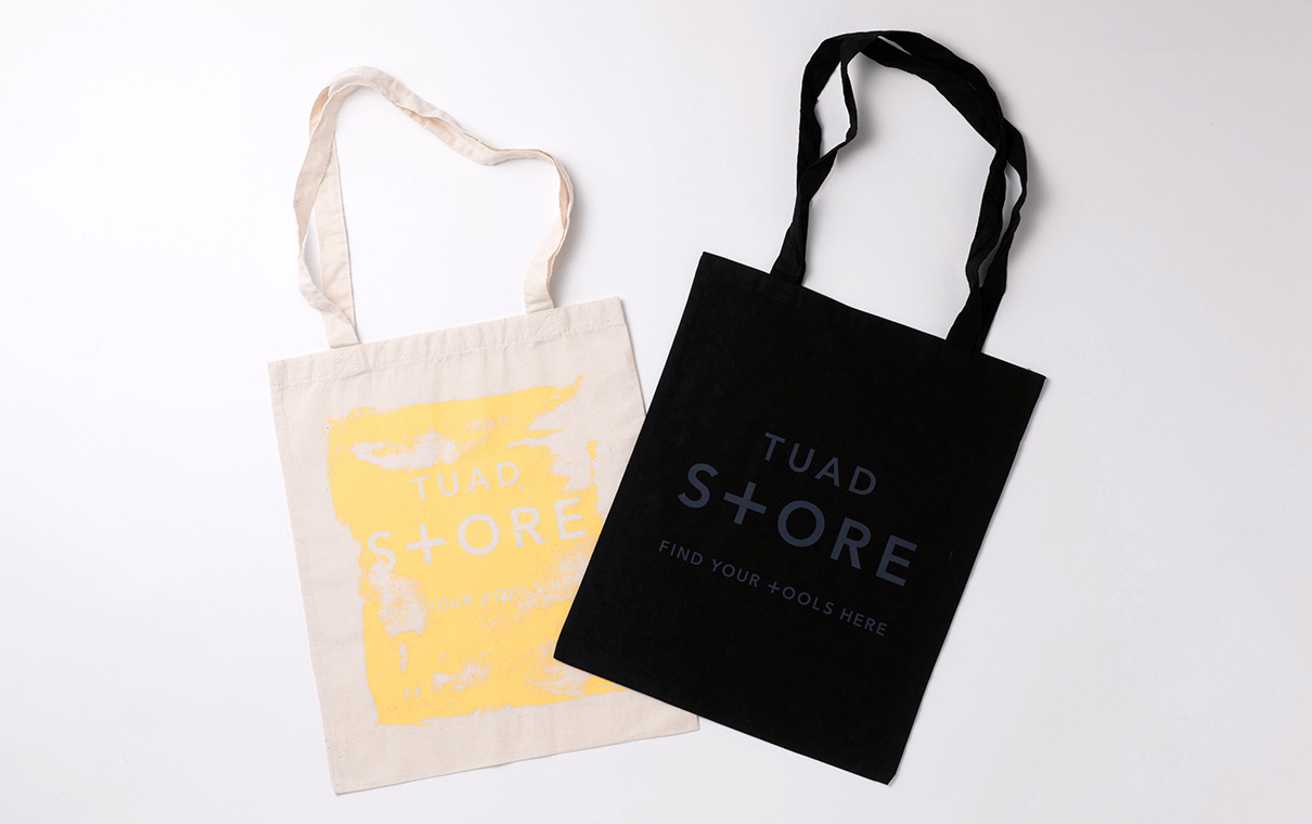 TUAD STORE 東北芸術工科大学内セレクトストア:Original Tote Bags and Pencils